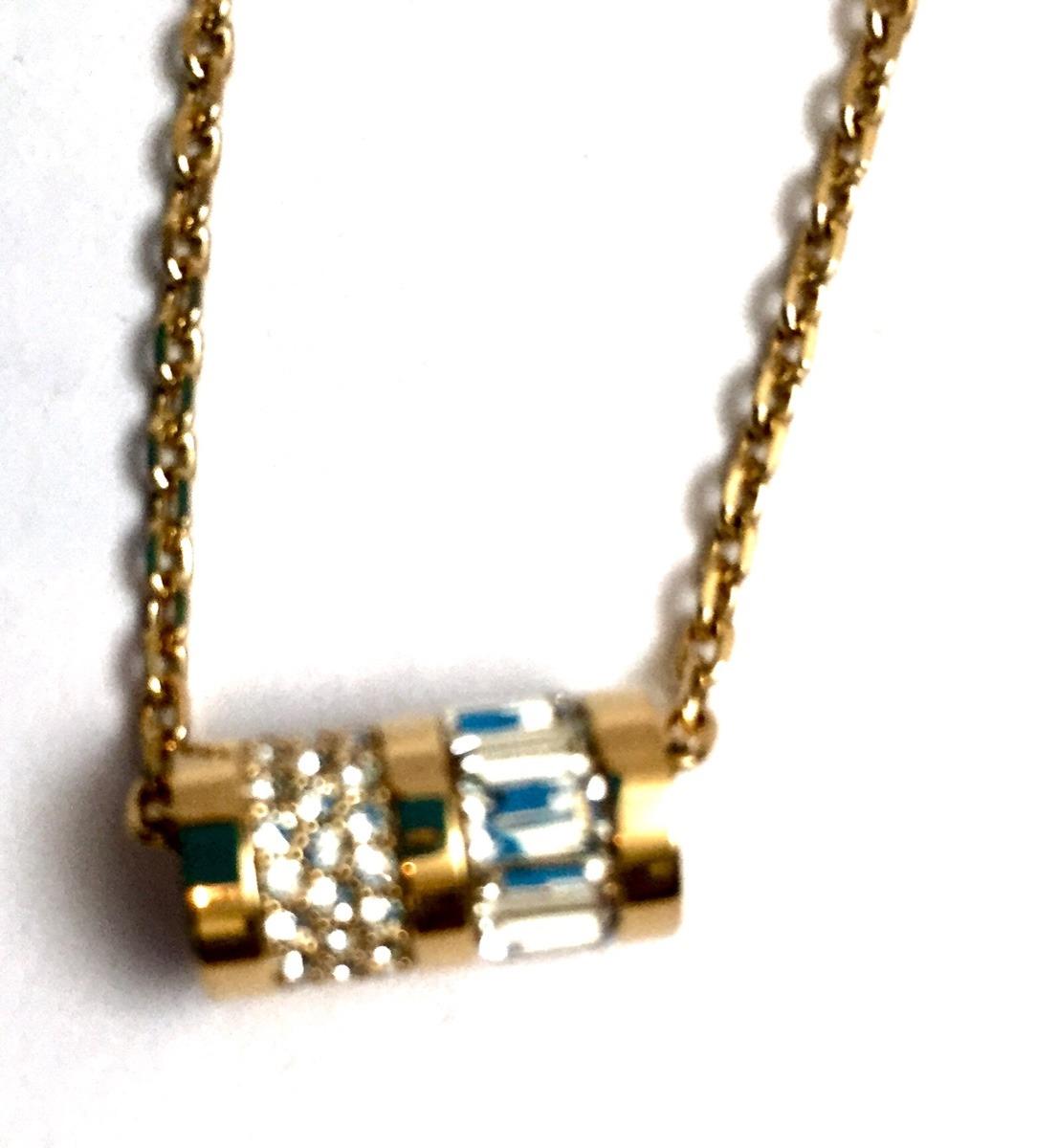 6d443cd62362 collar michael kors mk dorada cilindro nueva original. Cargando zoom.