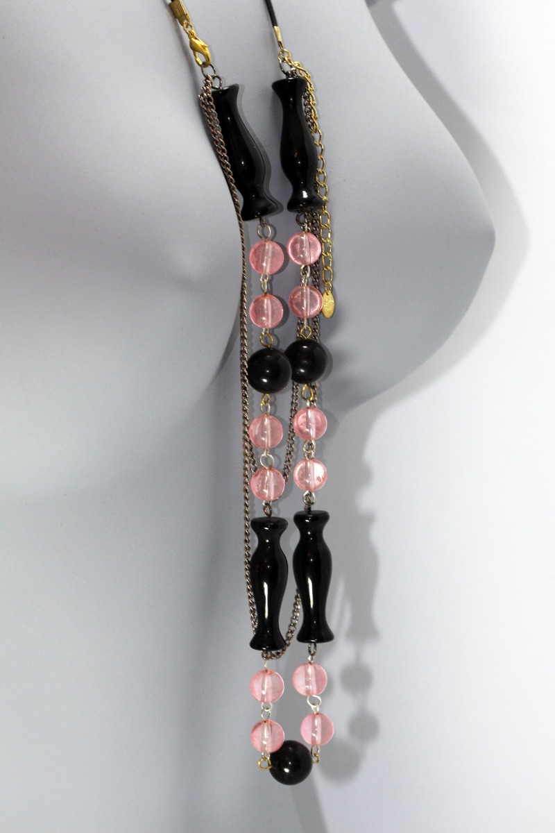 9f773688faf9 collar moda casual dama mujer vintage negros rosas cc286. Cargando zoom.