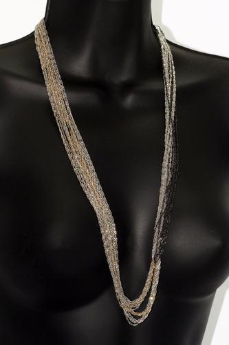 collar moda juego de finas cadenas cc490