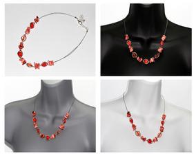 3a1cc207b2ad Bisuteria Collares Rojos - Collares y Cadenas en Mercado Libre México