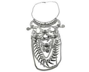 9a51003ce85c Collar Con Flecos De Cadenas - Cadenas y Collares en Mercado Libre Argentina
