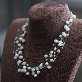 889986766c26 Collar Perla De Rio - Joyería Collares y Cadenas Perlas en Mercado Libre  Chile