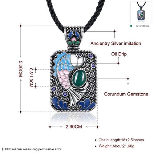 collar n010-c diseño de carpa estilo nacional para dama