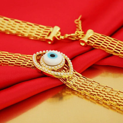 collar oro cristal.