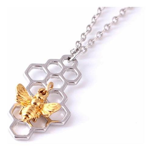 collar panal de abeja