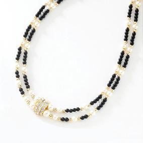 aac02b589440 Collar Con 4 Baños De Oro De 18 Kilates - Collares y Cadenas en Mercado  Libre México