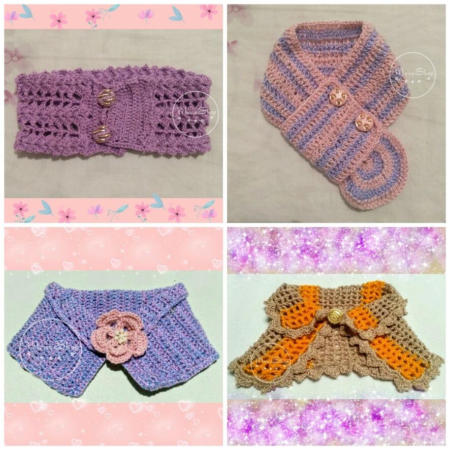 Collar Para Mascotas Perros Y Gatos Bufanda Crochet - Bs. 230,00 en ...