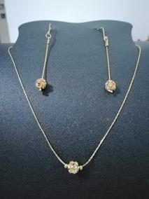 2bc3f3b345d7 Aretes Stitch - Collares y Cadenas Oro Sin Piedras en Mercado Libre México