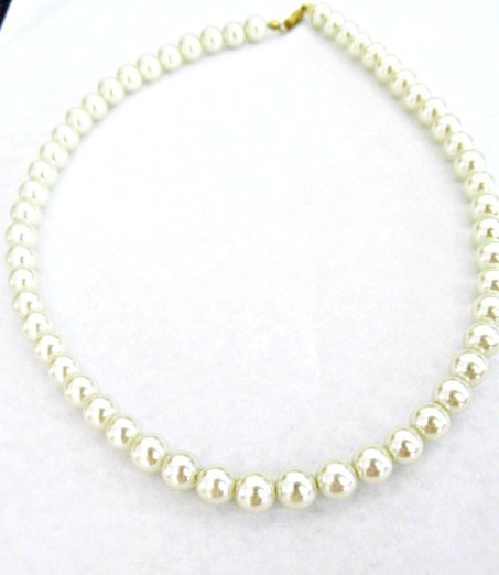 5559721e3a58 Collar Perlas Color Natural Perlitas De 8mm -   130