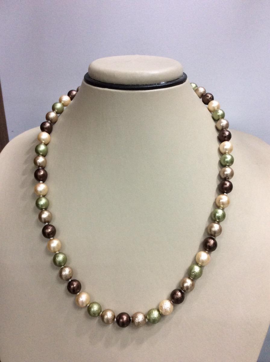 e113191e4acc Collar Perlas Color