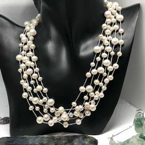 69e582755bb5 Collar De Perlas Akoya Cultivadas - Joyería en Mercado Libre Chile