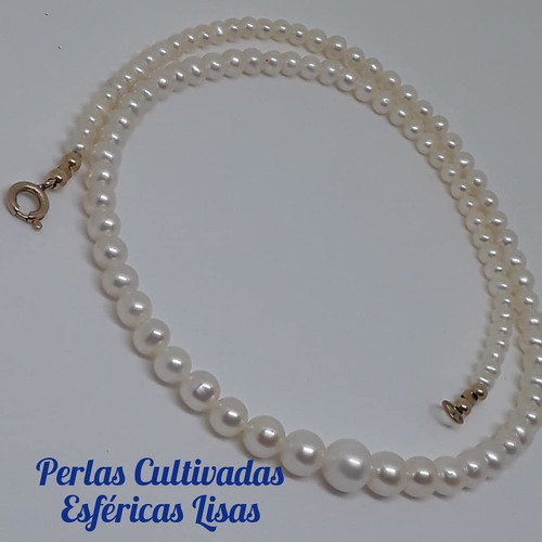 collar perlas cultivadas goldfilled americano