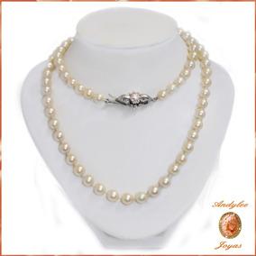 44e48d804e74 Collar De Perlas Con Broche De Oro en Mercado Libre Argentina