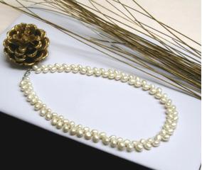 21c0fc8f7441 Collar De Perlas Auténticas Bonito Collar De Perlas - Joyería en Mercado  Libre México