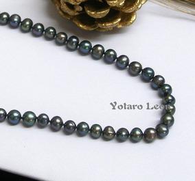 1d9d1e9f2bc7 Collar Perla De Rio Autentica Perlas - Joyería en Mercado Libre México