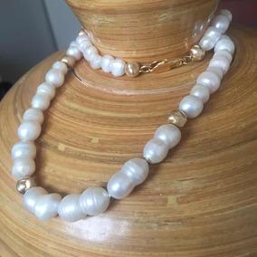 40656a391e75 Collar Oro Y Perlas - Joyas en Mercado Libre Uruguay