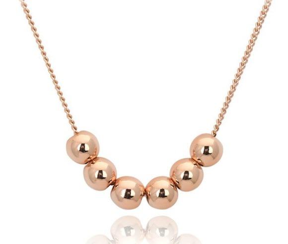 8c1b8bcae3be Collar Perlas Doradas De Oro Laminado Envio Gratis -   450.00 en ...