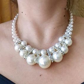 142f05b7f6a3 Collar De Perlas Fantasia - Joyería en Mercado Libre México