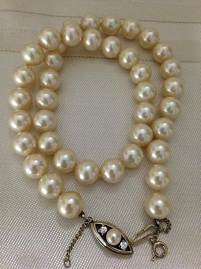 8dddc42d3ab7 collar perlas majorica clásico 10mm. leer antes de comprar. Cargando zoom.