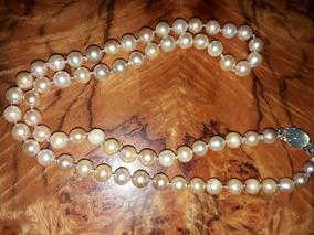 fe96d02a0ca4 Collar De Perlas Con Broche en Mercado Libre Argentina