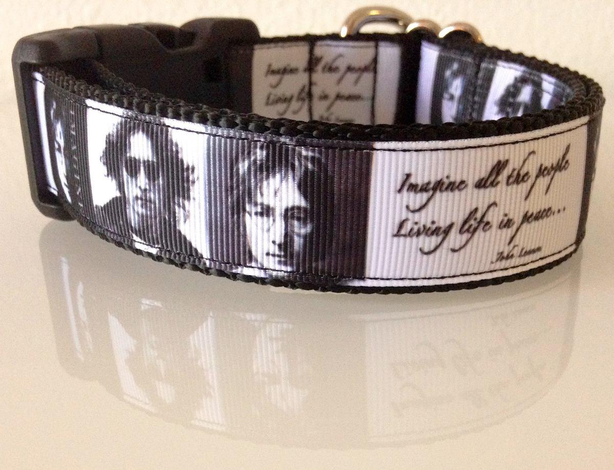 Collar Perro John Lennon The Beatles 33000 En Mercado Libre