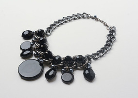 6d3e072d66ad Collar Piedras Negras - Mujer - La Merceria