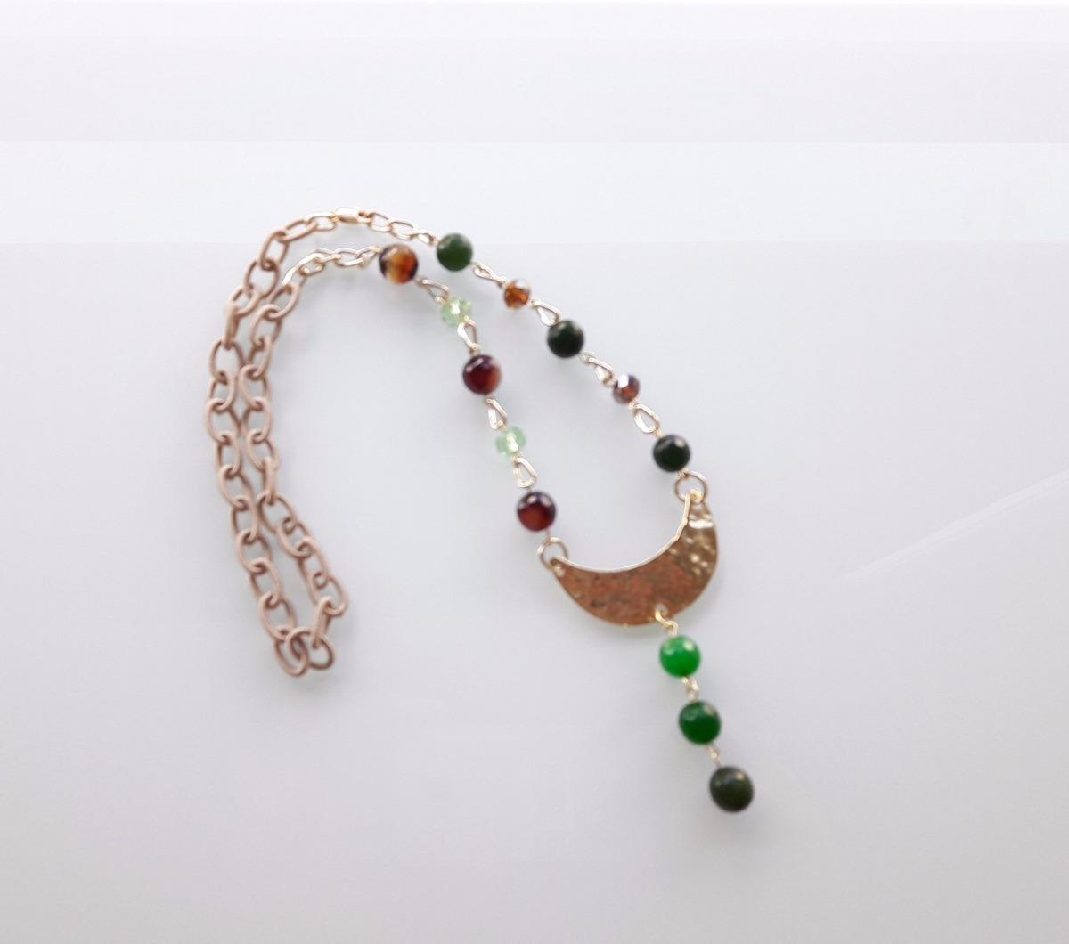 fe7e157ee7a5 collar piedras semi preciosa-mujer bisuteria accesorios a m. Cargando zoom.