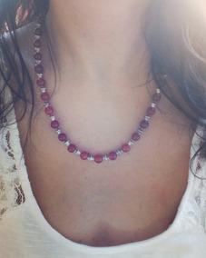 6a2a56f34fe2 Raso Collares Bijouterie Piedras Semipreciosas Perlas - Joyas y Relojes en Mercado  Libre Argentina