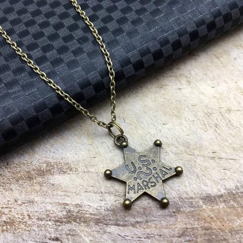 collar placa de policia collar moda vintage regalo policia