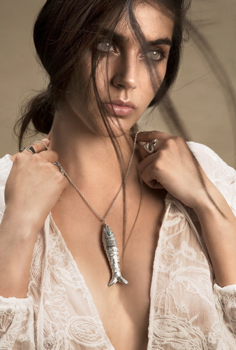 collar * plata 925 * tuna jewel * pez * envío gratis