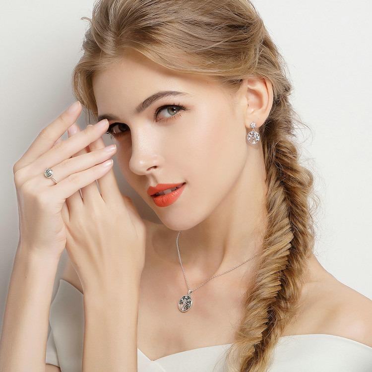 51088bdd17de Collar Plata Árbol De La Vida Estilo Pandora   Arany Joyas ...