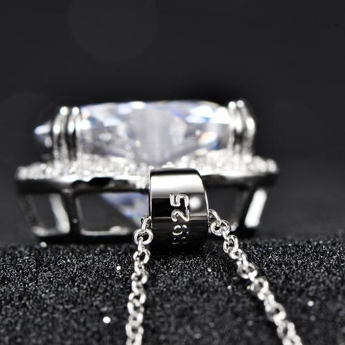 collar plata collar piedra