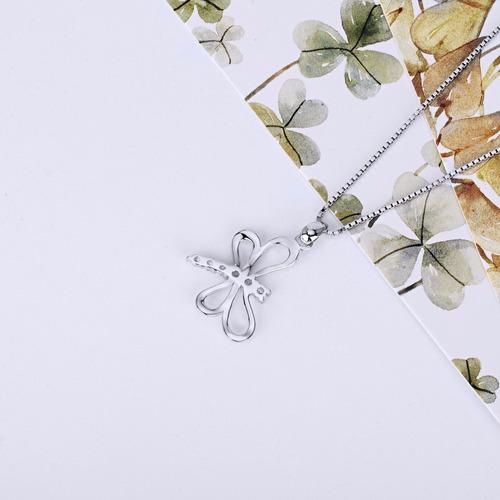 collar plata joya