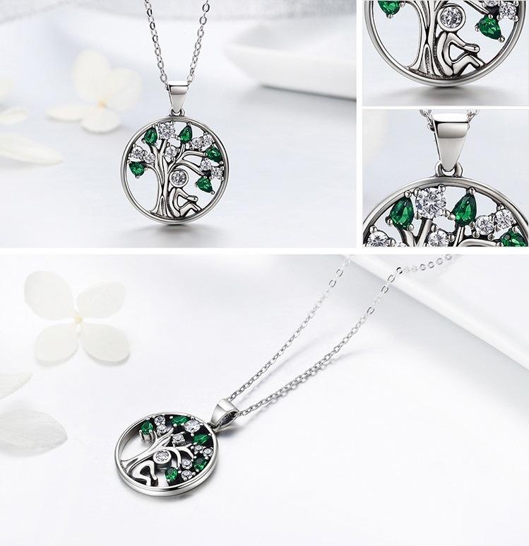 4fce56657e7e collar plata árbol de la vida estilo pandora   arany joyas · collar plata  joyas