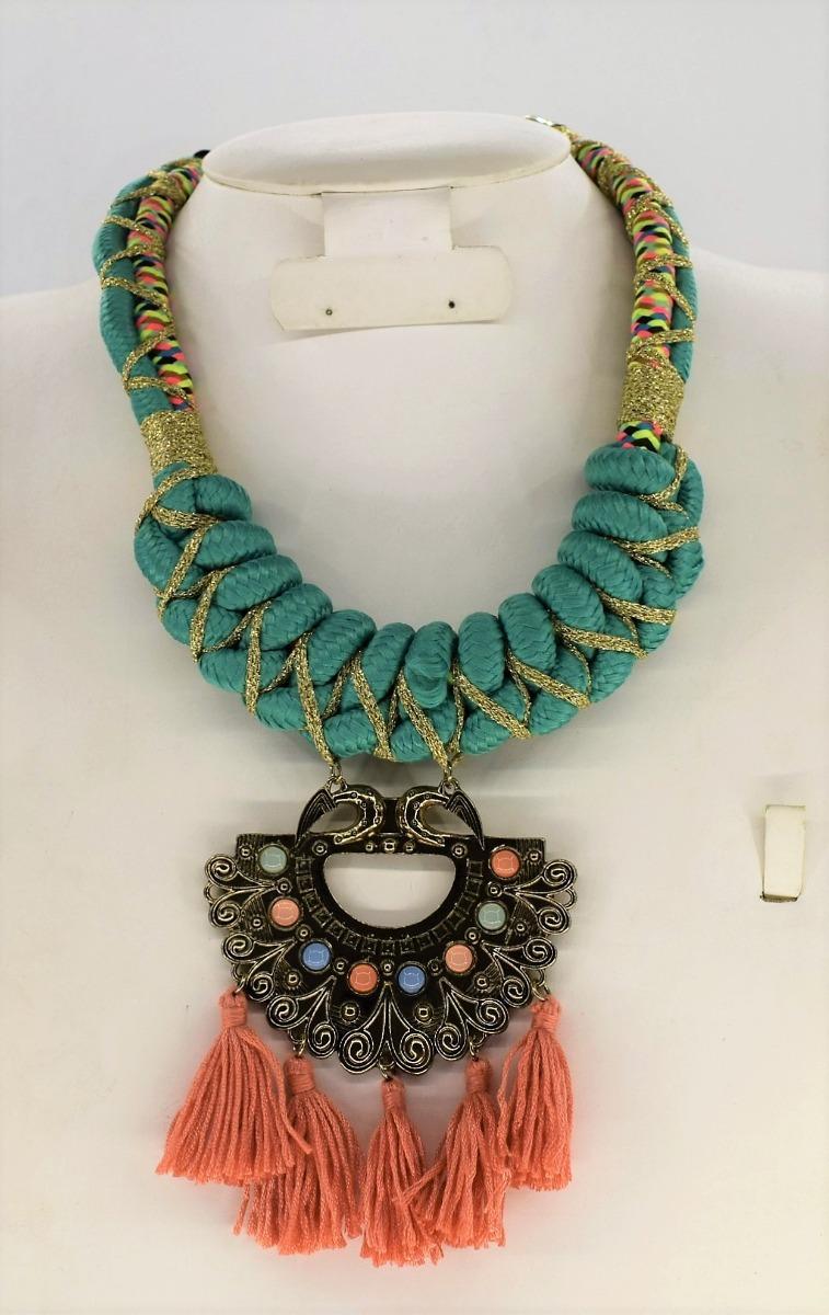 958010f01dd6 Collar Precioso Primavera Bisutería Moda Importada -   399.00 en ...