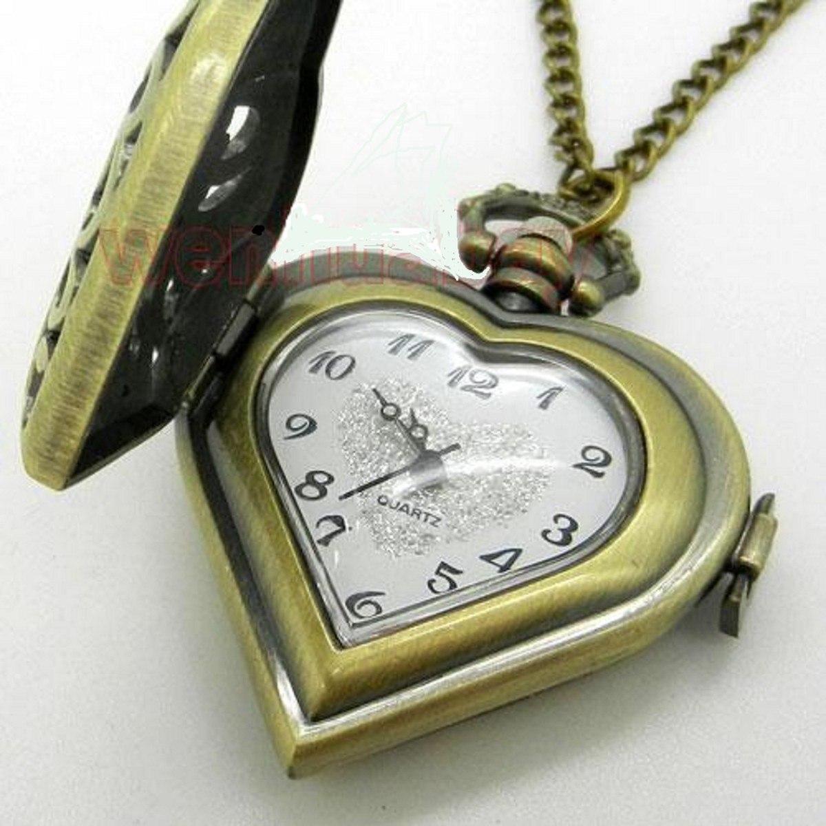 Marcas Cadena Especial Las Grandes Collar Reloj Corazón eCdxBo