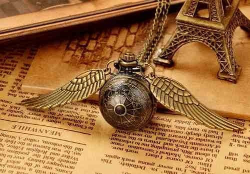 collar snitch reloj harry potter bola quidditch ball golden