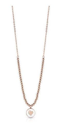 collar summer love oro rosa guess jewellery