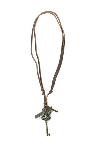 collar synergy de caballero marron oscuro hacc01-cc16
