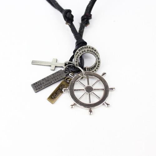 collar synergy de caballero negro hacc01- cc19