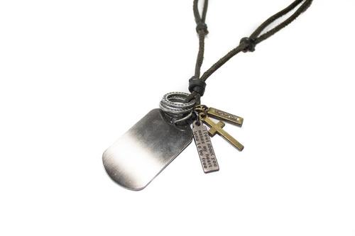 collar synergy de caballero negro hacc01- cc6