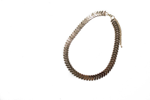 collar synergy metalico dorado acc403-cm42