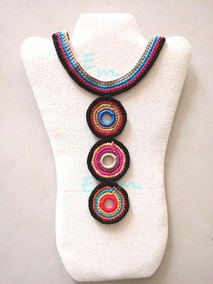 Collares Crochet Joyería En Mercado Libre México