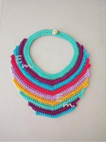 62ef97d8134f Collares Tejidos En Crochet - Collares y Cadenas en Mercado Libre México