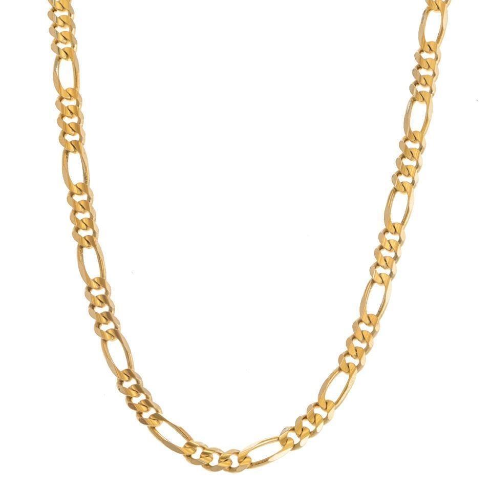 5e5bcd6beb97 collar tres eslabones por uno en oro amarillo.-121109251. Cargando zoom.