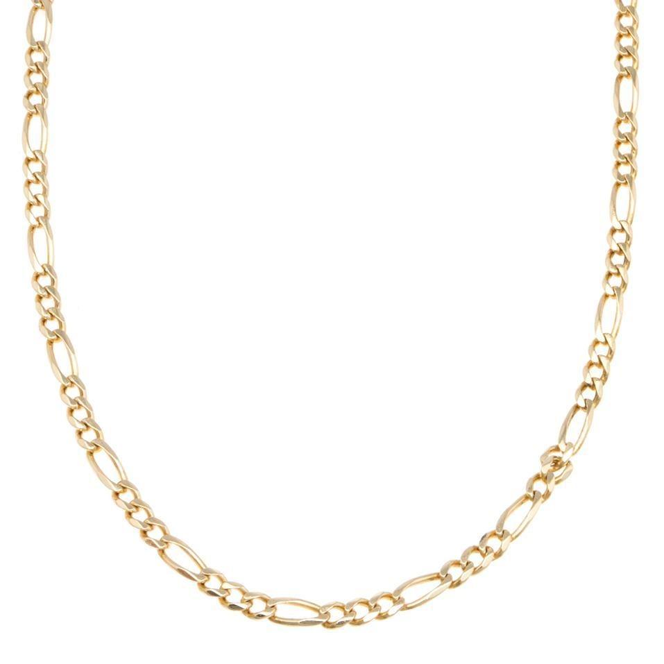 7e0b276b1a2e collar tres eslabones por uno en oro amarillo.-123603557. Cargando zoom.