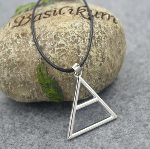 collar triad 30 seconds to mars plateado + envio gratis
