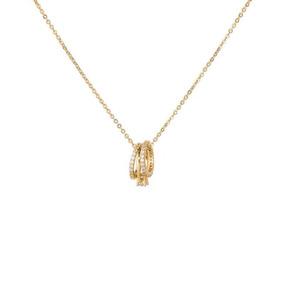 dbab00668946 Collar Triple Cadena Oro Solido - Collares y Cadenas en Mercado Libre México