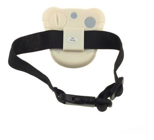 collar ultrasonido anti ladrido. regulable.