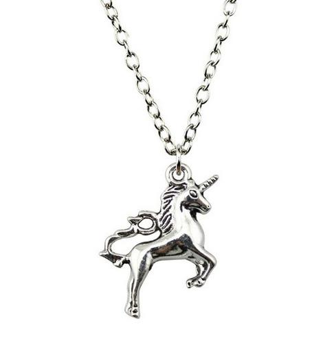 collar unicornio arcoiris mujer regalo dije amor sueño color